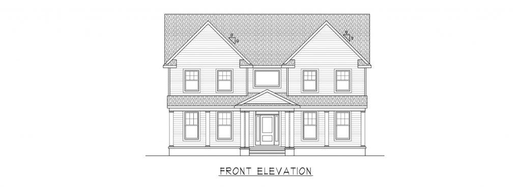 Coastal Homes & Design - The Heritage - Front Elevation