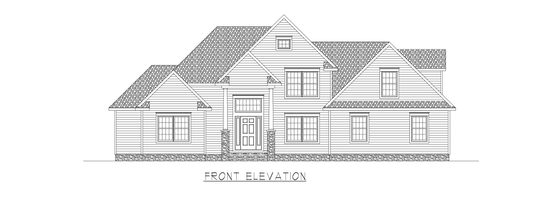Coastal Homes & Design - The Thomasville - Front  Elevation